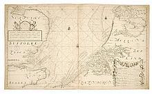 [SEA CHART] VAN KEULEN, J. and G. Nieuwe paskaart van het Zuyderste gedeelte der Noord-Zee strekkende van Texel tot aande Hoofden Begrypende in sigh de Zeekusten van Vriesland, Holland, Zeeland, Vlaanderen ook een gedeelte van d'Oostkust van England