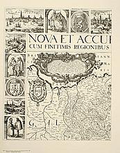SCHILDER, Günter Pieter van den Keere. Nova et accurata Geographica Descriptio Inferioris Germaniae (Amsterdam, 1607)