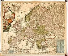 LOTTER, T.C. Europa regnorum Provinciarum Regionum