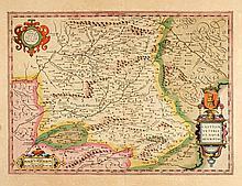 [SPAIN] HONDIUS Castiliae veteris et novae descriptio, 1606