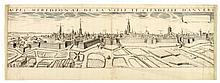 PICART, Hugues Aspec meridional de la ville et citadelle d'Anvers