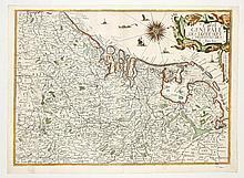 [17 PROVINCIËN KAART] Carte générale des dix et sept provinces des Pays Bas
