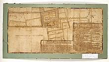 [OEDELEM] Caerte figurative van thuys en land van ten Torre in Oedelem behorend aan Pardo, heer van Fremicourt, 1648