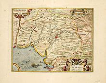 [SPAIN] ORTHELIUS Hispalensis conventus delineatio (Andalusia)