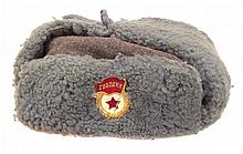 A SOVIET-ERA RUSSIAN GUARD?S CAP