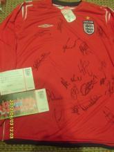 Signed FA Issued England Shirt No 5