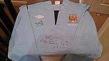 Yaya Toure Signed Training Jacket