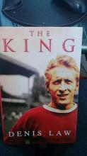 Signed Book by the king Denis Law