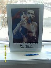 Signed Frank Bruno Picture