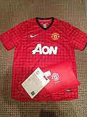 Signed Manchester United Shirt signed by Vidic