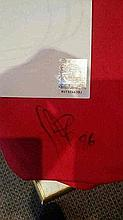 Oberton Signed United Shirt with cert