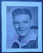Mark Jones  Manchester United  - BUSBY BABES C1956 Genuine Signed Picture RARE