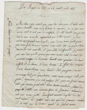 (Histoire) - Jean-Joseph BARBEREUX - Lettre de grognard - 1808