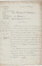 (Histoire) - Emmanuel CRETET (1747-1809) - Fabrication d'armes de luxe et leur exploitation (Liège, 1807)