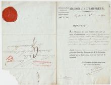(Histoire) - Pierre DARU (1767-1829) - Maison de l'Empereur (1808)