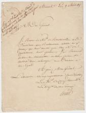(Histoire) - Antoine François PONCET (1750-1825) - Cent jours (1815)
