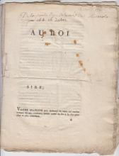 (Histoire) - Rebellion de Lille - 1790