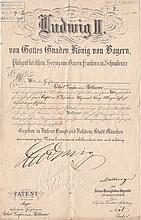 King Ludwig II of Bavaria (1845-1886)