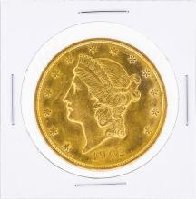 1902 $20 Liberty Head Double Eagle Gold Coin