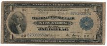 1918 $1 Flying Eagle Federal Reserve Bank Note