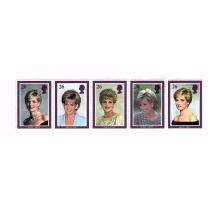 Princess Diana of Wales Certified Stamps