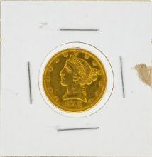 1881 $5 Liberty Head Gold Coin XF