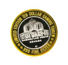 Westward Hotel Las Vegas $10 Casino Gaming Token .999 Silver Limited Edition