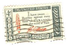 United States Credo Postage Stamp