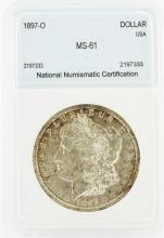 1897-O $1 Morgan Silver Dollar