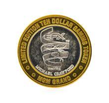 .999 Silver MGM Grand Las Vegas, Nevada $10 Casino Gaming Token Limited Edition