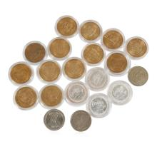 Assorted Lot of Clad Gaming Tokens