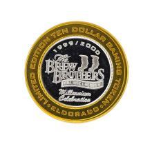 .999 Silver El Dorado Reno, Nevada $10 Casino Gaming Token Limited Edition