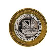 .999 Silver Reno/Tahoe International Airport $10 Casino Gaming Token Limited Edi