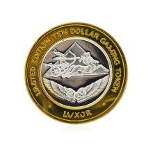 .999 Silver The Luxor Las Vegas, Nevada $10 Casino Gaming Token Limited Edition