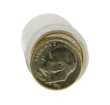 Roll of (50) 1956-D Brilliant Uncirculated Roosevelt Dimes