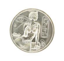 2 oz Cleopatra Ultra High Relief Silver Coin
