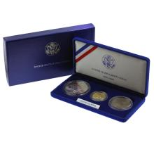 1986 (3) Coin United States Liberty Proof Coin Set