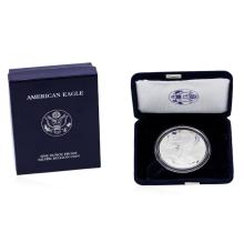 2004 1oz American Silver Eagle Proof Coin with Box