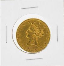 1882 $10 Liberty Head Eagle Gold Coin AU