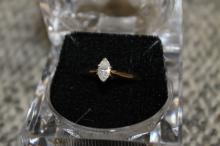 14kt Gold ring with 1/2 carat diamond