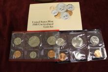 1988 uncirculated coin set.