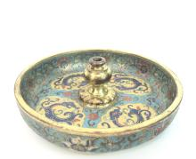 A Chinese Small Cloisonn¨¦ Enamel