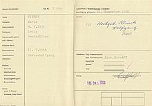 1966 Schweiz Ausländerpass für Kuraufenthalt DAVOS