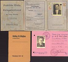 DEUTSCHE DOKUMENTE 1937 / 1958 ST. BLASIENSIGMARINGEN