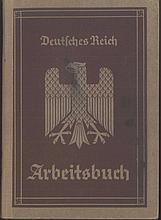 III. REICH - ARBEITSBUCH Nr 183 Ki / 2244