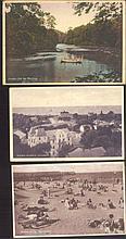 SEEBAD MISDROY WESTPOMMERN 3 gelaufene Ansichtskarten