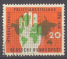 1956 BUND IPA ESSEN mit Plattenfehler Katalogwert 200 Euro!