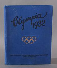 WEIMARER REPUBLIK OLYMPIADE 1932 komplettes Sammelbilder -