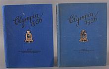 III. REICH OLYMPIADE 1936 die 2 kompletten Sammelbilder -