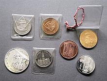 Medaillen der Region BADENdabei OBERKIRCH DURLACH RASTATT